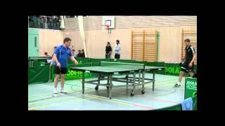 preview picture of video 'Tischtennis-Aufstiegsspiel: [ Erdweg gegen Starnberg ] Spiel 5'