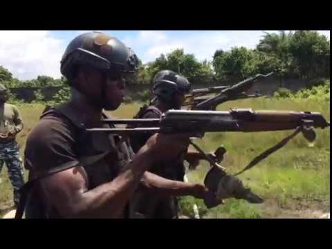 Nigeria SBS on training