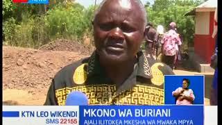 Mazishi yafanyika mjini Kisumu ambapo watu watano wa familia moja walizikwa