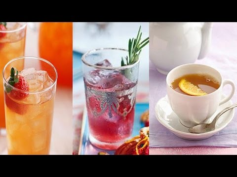 Video Top 5 Low Carb and Healthy Tea Recipes
