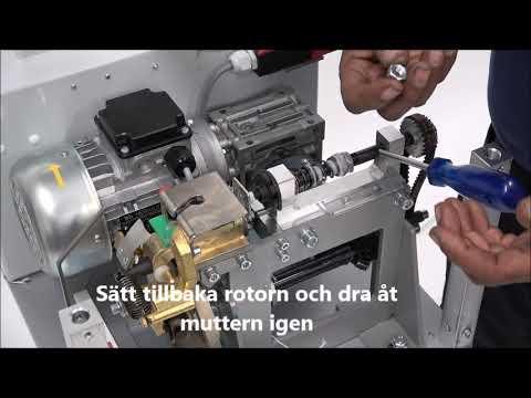 AXRO FQC2: Elastikband matas inte in i maskinen korrekt