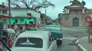 preview picture of video 'A bus ride through Cárdenas, Matanzas Province of Cuba'