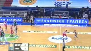 Olympiakos - Panathinaikos 68 - 64 (20.02.2010) - 1st Quarter (Part 1)