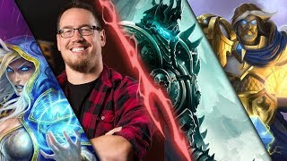 Trump (&Ben) Casually Defeat the Lich King with Mage & Paladin (KFT Frozen Throne)