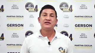 Edison Quezada, Candidato Asambleísta Nacional del Ecuador 2021.