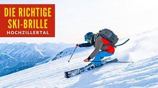 Die richtige SKIBRILLE für Brillenträger | Skiing Kaltenbach / Hochzillertal