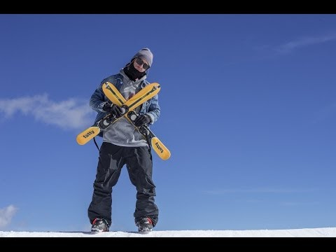 iF3 World Snowblade Championship 2014 - Sean Pettit (video)