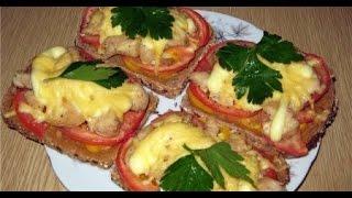 Смотреть онлайн Как приготовить горячие бутерброды в микроволновке