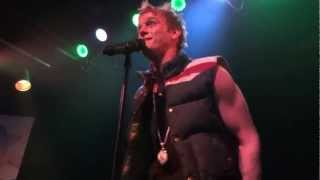 "Aaron Carter ""When It Comes To You"" Jammin Java 3/10/13"