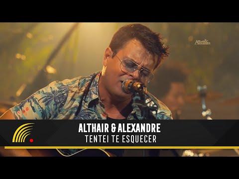 Althair & Alexandre - Tentei te esquecer - Ensaio Turnê 2019
