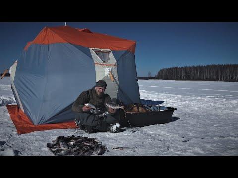 Отвёл Душу На Зимней Рыбалке! Ловля Плотвы на Поплавок!