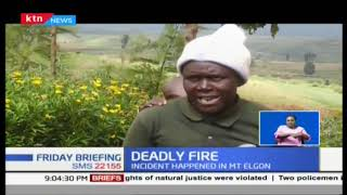 Three children burnt to death in Mt Elgon area after their house burst into flames