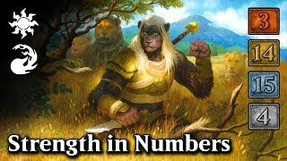 MTG Arena - Upgrading Strength in Numbers