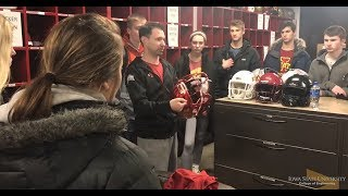 IE 101 Visits Iowa State Football Facility