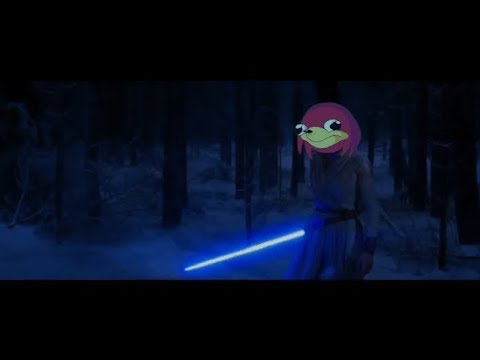 "[VRchat] Uganda Knuckles Star Wars ""You don't know the way"""