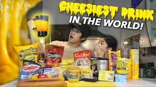 CHEESIEST DRINK IN THE WORLD | Ranz and Niana
