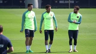 VIDEO Barcelona y RealMadrid se alistan para una jornada decisiva en LaLiga