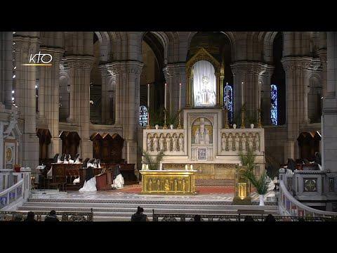 Prière du Milieu du jour du 2 février 2021 des Bénédictines du Sacré-Coeur de Montmartre