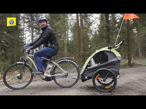 Test di porta bimbo per bici