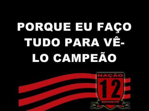 """""""Flamengo escute bem o meu recado"""" Barra: Nação 12 • Club: Flamengo"""