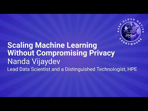 Image thumbnail for talk Sponsored Keynote: Scaling Machine Learning Without Compromising Privacy