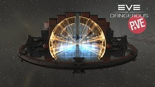 🔴 EVE Online - Добываем мунматы. Логистика, запуск бура.