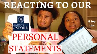 Reading our Oxford personal statements + top writing tips.