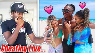 Will My Best Friend CHEAT with 2 Miami Models LIVE?! The Impossible Loyalty Test