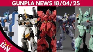 Gunpla News: RG Sazabi, GM, Galbaldy Rebake, Phenex, Stein, Jegan, Grimoire, SDCS