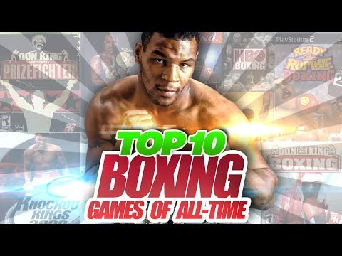Top 10 Boxing Video Games of All-Time!