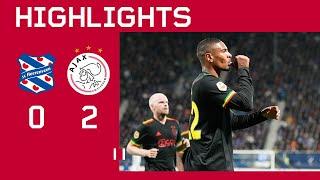 Neres back on the scoresheet ???   Highlights sc Heerenveen - Ajax   Eredivisie