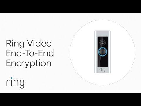 Las cámaras de seguridad de Amazon Ring ahora cuentan con cifrado de vídeo de extremo a extremo