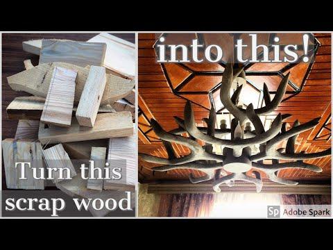 Wooden Antler Cha...