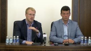 Пресс-конференция в городской Думе (18.07.2017)