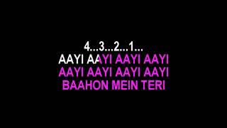 Aaja Aaja Meri Jaan Karaoke With Female Voice   - YouTube