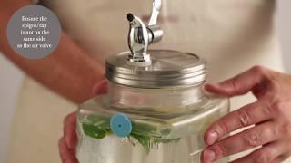 Kilner Koelkast Drank Dispenser 3 Liter