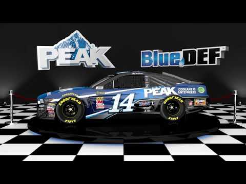 2019 No. 14 PEAK Coolant & Antifreeze Ford Mustang & No. 14 Diesel Exhaust Fluid Ford Mustang