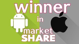 GOOGLE ANDROID OR APPLE  iOS /WHO OWNS MOST OF THE SMARTPHONES  IN THE WORLD