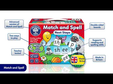 Orchard Match and Spell Next Steps Game