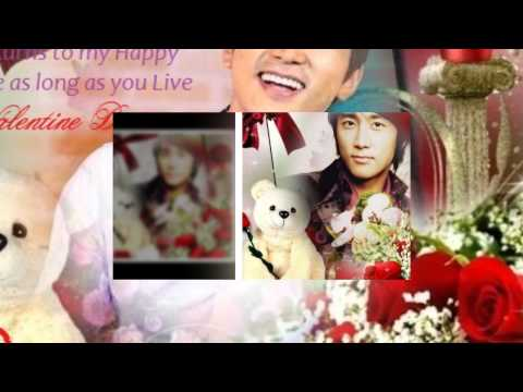 Song Seung Heon ~ Valentine Love Cards  2014 ,music by  Eru - Saranghae (I Love You)