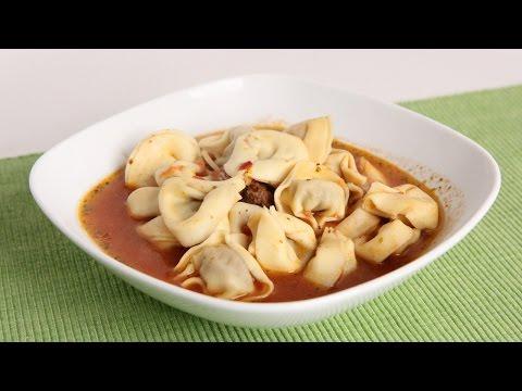 Twenty Minute Italian Tortellini Soup Recipe – Laura Vitale – Laura in the Kitchen Episode 995