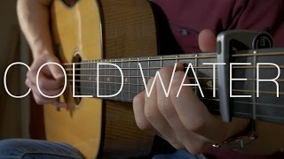 Major Lazer - Cold Water (feat. Justin Bieber & MØ) - Fingerstyle Guitar Cover - Free Tabs