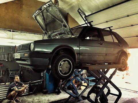 Приводим VW Golf 2 1987 года в чувства