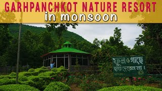 Garhpanchkot Nature Resort in Monsoon