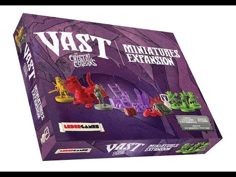 Bower's Game Corner: Vast: The Miniatures Expansion Review