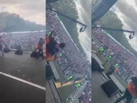 """Davido Performs """"If"""" &""""Fall"""" At J. Cole Dreamville Festival"""