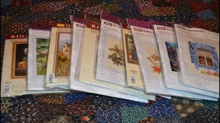 Riolis SAL!  -- What I Love So Much About These Russian Cross Stitch Kits -- Flosstube