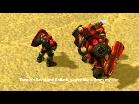 Starcraft II's Marine And Hellbat Units Clash In An Epic Rap Battle