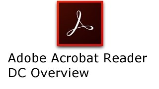 Adobe Acrobat Reader DC video