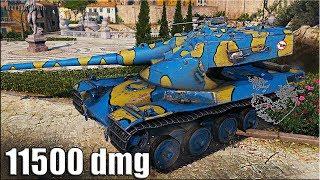 AMX 50B лучший ДАМАГЕР 11500 dmg World of Tanks